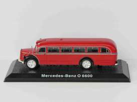 Mercedes Benz  - O6600 red - 1:72 - Magazine Models - O6600 - magfireO6600 | Toms Modelautos