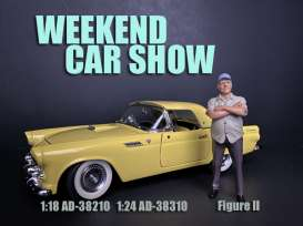 Figures  - Weekend Car Show 2019  - 1:24 - American Diorama - 38310 - AD38310 | Toms Modelautos