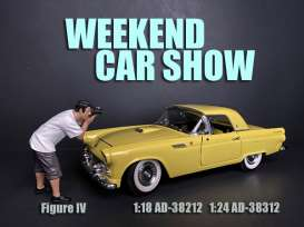 Figures  - Weekend Car Show 2019  - 1:24 - American Diorama - 38312 - AD38312 | Toms Modelautos