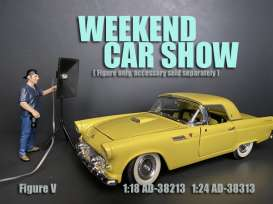 Figures  - Weekend Car Show 2019  - 1:24 - American Diorama - 38313 - AD38313 | Toms Modelautos