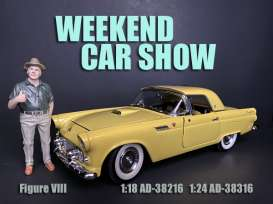 Figures  - Weekend Car Show 2019  - 1:24 - American Diorama - 38316 - AD38316 | Tom's Modelauto's