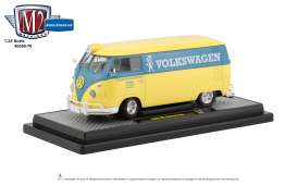 Volkswagen  - 1960 grey/white - 1:24 - M2 Machines - 40300-76B - M2-40300-76B | Toms Modelautos