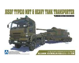 Military Vehicles  - 1:72 - Aoshima - 054321 - abk054321 | Toms Modelautos