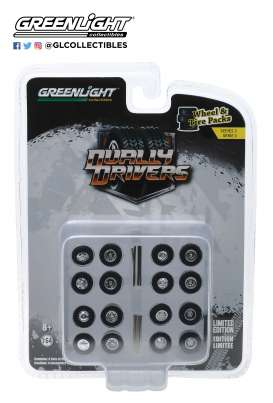 Wheels & tires Rims & tires - 1:64 - GreenLight - 16050A - gl16050A | Toms Modelautos