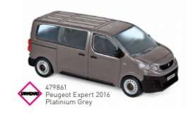 Peugeot  - 2016 grey - 1:43 - Norev - 479861 - nor479861 | Toms Modelautos
