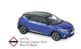 Renault  - 2020 blue/black - 1:43 - Norev - 517776 - nor517776 | Toms Modelautos