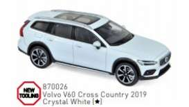Volvo  - 2019 white - 1:43 - Norev - 870026 - nor870026 | Toms Modelautos