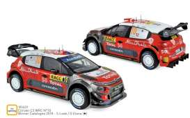 Citroen  - C3 WRC 2018 red/white - 1:18 - Norev - 181631 - nor181631 | Toms Modelautos