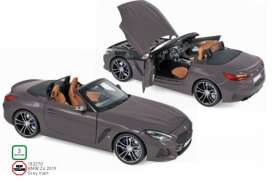 BMW  - Z4 2019 grey matt - 1:18 - Norev - 183270 - nor183270 | Toms Modelautos