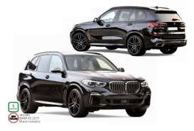 BMW  - X5 2019 black - 1:18 - Norev - 183280 - nor183280 | Toms Modelautos