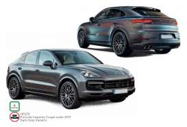 Porsche  - Cayenne 2019 dark grey - 1:18 - Norev - 187670 - nor187670 | Toms Modelautos