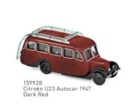 Citroen  - U23 1947 dark red - 1:87 - Norev - 159928 - nor159928 | Toms Modelautos