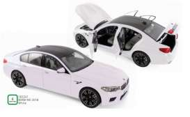 BMW  - M5 2018 white - 1:18 - Norev - 183241 - nor183241 | Toms Modelautos