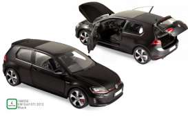 Volkswagen  - Golf GTI 2013 black - 1:18 - Norev - 188550 - nor188550 | Toms Modelautos