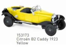 Citroen  - B2 Caddy 1923 yellow/black - 1:43 - Norev - 153173 - nor153173 | Toms Modelautos