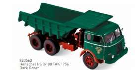Henschel  - 1956 dark green - 1:43 - Norev - 820563 - nor820563 | Toms Modelautos