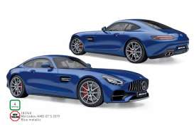 Mercedes Benz  - GTS 2019 blue - 1:18 - Norev - 183740 - nor183740 | Toms Modelautos