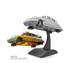 Citroen  - DS 2015 yellow/red - 1:43 - Norev - pm0105 - norpm0105 | Toms Modelautos