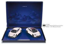 Renault Alpine - white - 1:43 - Norev - 517867 - nor517867 | Toms Modelautos
