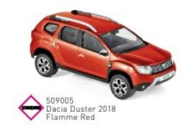 Dacia  - Duster 2018 red - 1:43 - Norev - 509005 - nor509005 | Toms Modelautos