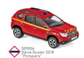 Dacia  - Duster 2018 red - 1:43 - Norev - 509006 - nor509006 | Toms Modelautos