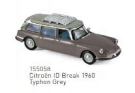 Citroen  - ID Break 1960 grey - 1:87 - Norev - 155058 - nor155058 | Toms Modelautos