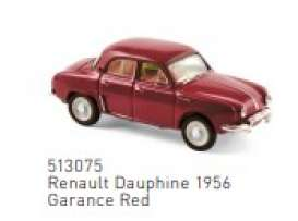 Renault  - 1956 red - 1:87 - Norev - 513075 - nor513075 | Toms Modelautos