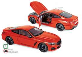 BMW  - 850i 2019 orange - 1:18 - Norev - 183285 - nor183285 | Toms Modelautos