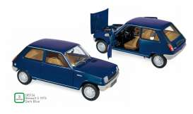 Renault  - 5 1973 blue - 1:18 - Norev - 185134 - nor185134 | Toms Modelautos
