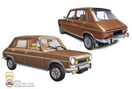 Simca  - 1000 1974 sandalwood - 1:18 - Norev - 185750 - nor185750 | Toms Modelautos