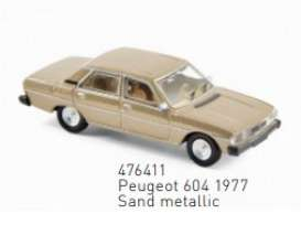 Peugeot  - 1977 sand - 1:87 - Norev - 476411 - nor476411 | Toms Modelautos