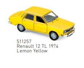 Renault  - 1974 yellow - 1:87 - Norev - 511257 - nor511257 | Toms Modelautos