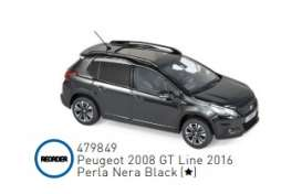 Peugeot  - 2016 black - 1:43 - Norev - 479849 - nor479849 | Toms Modelautos
