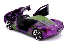 Chevrolet  - Corvette Stingray 2009 purple/white/green - 1:24 - Jada Toys - 31199 - jada31199 | Toms Modelautos