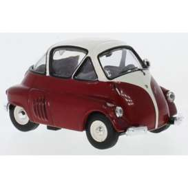 BMW  - Isetta 1955 red/white - 1:43 - IXO Models - CLC312 - ixCLC312 | Toms Modelautos