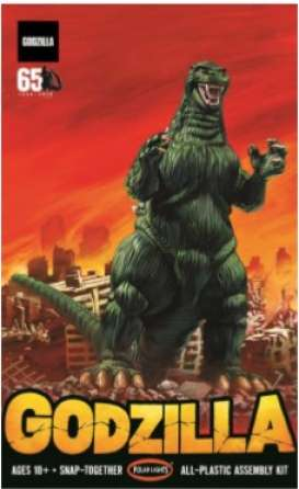 Figures  - Godzilla  - 1:250 - Polar Lights - POL959 - plls0959 | Toms Modelautos