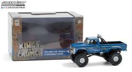 Ford  - F-250 Monster Truck 1974 blue - 1:43 - GreenLight - 88031 - gl88031 | Toms Modelautos