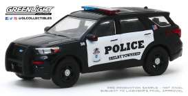 Ford  - 2020 black/white - 1:64 - GreenLight - 30143 - gl30143 | Toms Modelautos