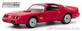 Pontiac  - Firebird 1979 red - 1:64 - GreenLight - 30147 - gl30147 | Toms Modelautos