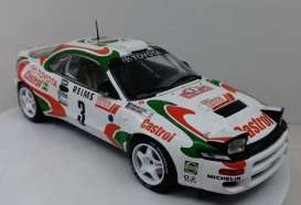 Toyota  - Celica white/red/green - 1:18 - IXO Models - rmc041A - ixrmc041A | Toms Modelautos