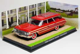 Ford  - Country Squire red/brown - 1:43 - Magazine Models - magJBCountry | Toms Modelautos