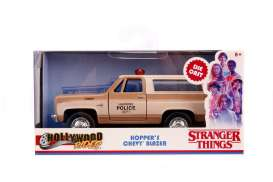 Chevrolet  - Blazer *Stranger Things* brown/creme - 1:32 - Jada Toys - 31114 - jada31114 | Toms Modelautos