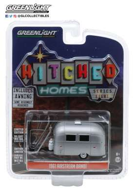 Airstream  - silver - 1:64 - GreenLight - 34080E - gl34080E | Toms Modelautos