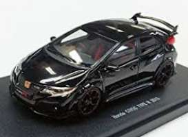 Honda  - Civic  2015 black - 1:43 - Ebbro - 45353 - ebb45353 | Toms Modelautos