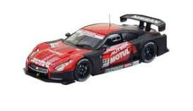 Nissan  - 2012 red/black - 1:43 - Ebbro - 44763 - ebb44763 | Toms Modelautos