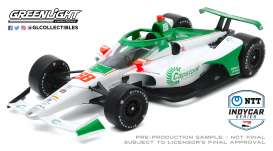 Honda  - 2020 white/green - 1:18 - GreenLight - 11083 - gl11083 | Toms Modelautos