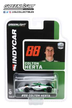 Honda  - 2020 white/green - 1:64 - GreenLight - 10866 - gl10866 | Toms Modelautos