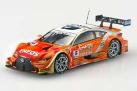 Lexus  - 2015 orange/white - 1:43 - Ebbro - 45267 - ebb45267 | Toms Modelautos
