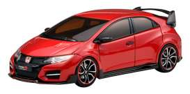 Honda  - Civic  2014 red - 1:43 - Ebbro - 45234 - ebb45234 | Toms Modelautos
