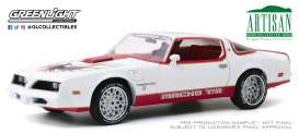 Pontiac  - Firebird 1978 white/red - 1:18 - GreenLight - 19081 - gl19081 | Toms Modelautos